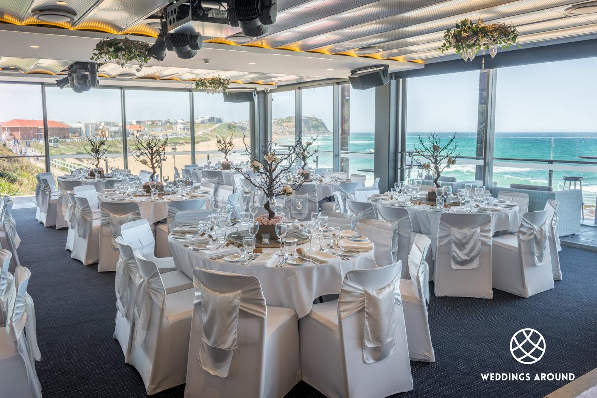 Merewether Surfhouse Wedding Reception