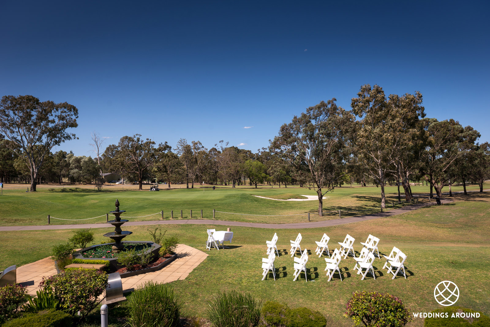 Easts Leisure and Golf Wedding Ceremony