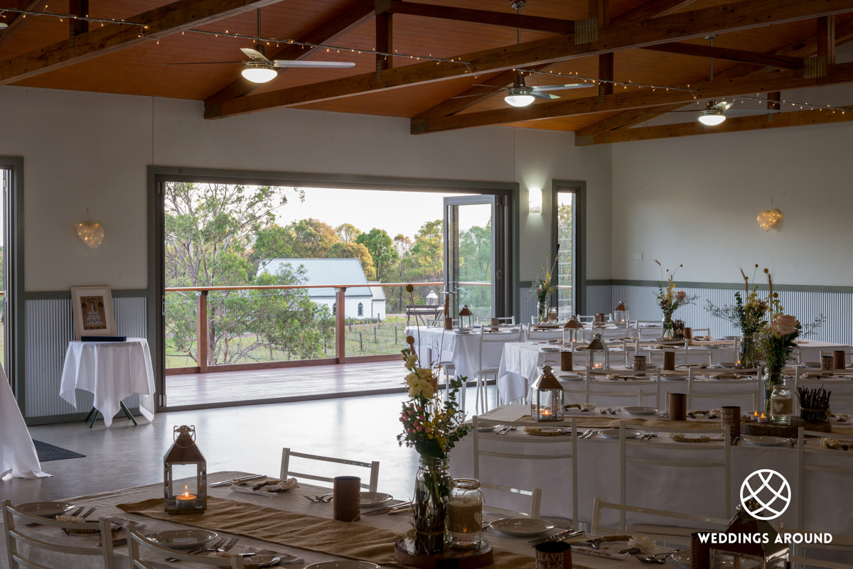 Lovedale Wedding Chapel & Reception 06