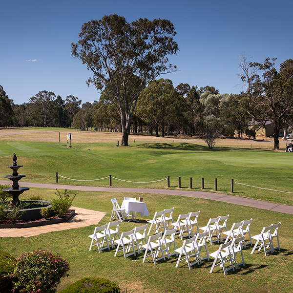Maitland Golf Club Wedding Venue