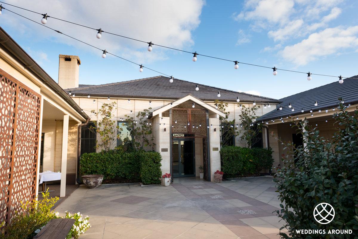 Margan Restaurant & Winery Courtyard