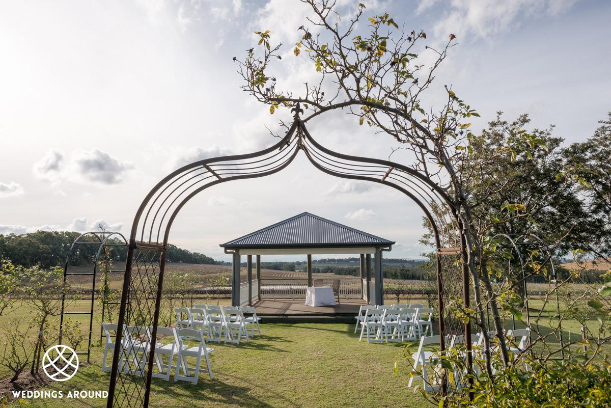 Twine Restaurant Wedding Ceremony
