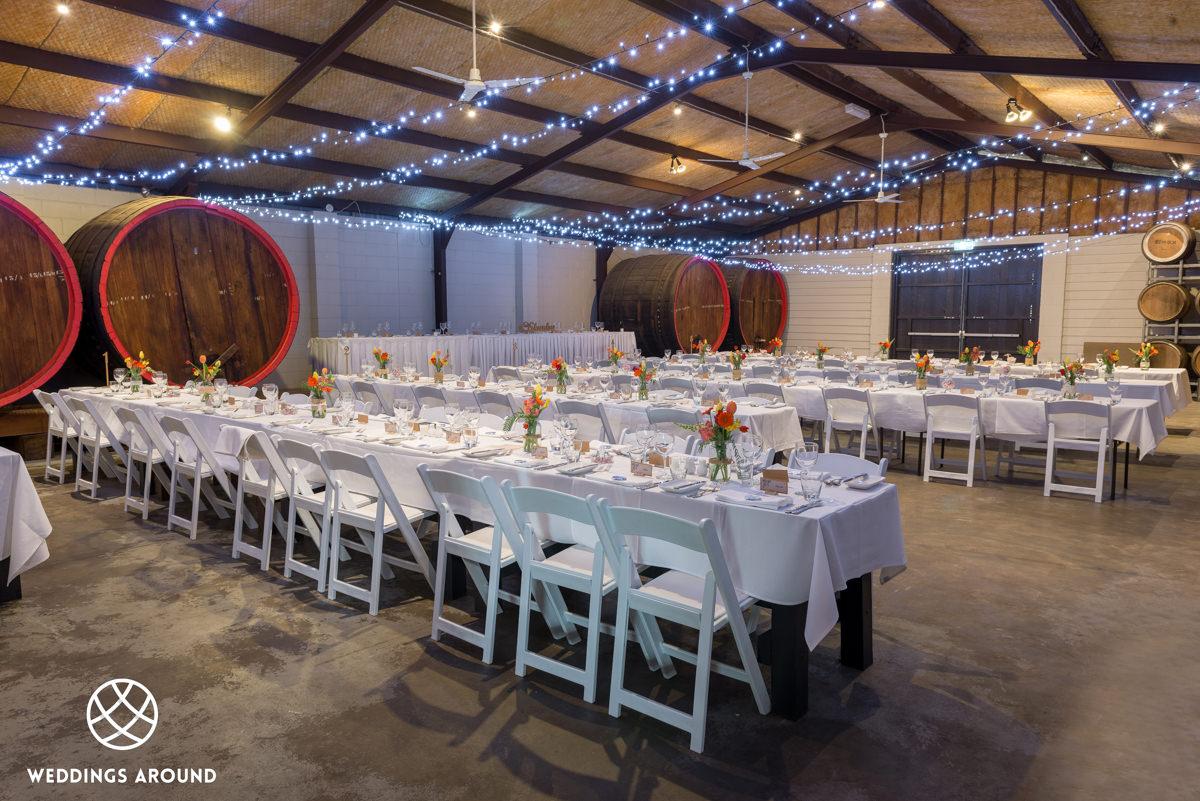 Wynwood Barrel Room wedding reception